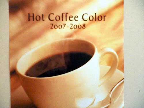 Hot Coffee Color