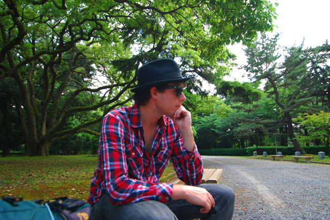 kyoto steve contemplating