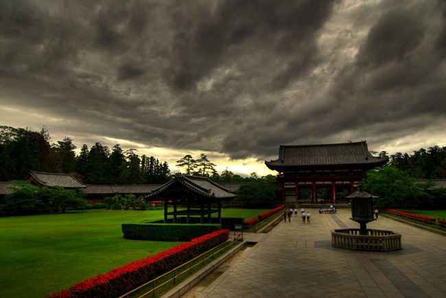 nara todaiji facing away