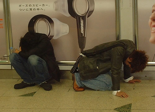 Drunk Japanese. Japan's best hangover cures