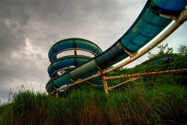 sports world waterslide close